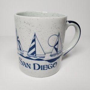 Vintage 80's San Diego Souvenir Speckled Mug 12oz
